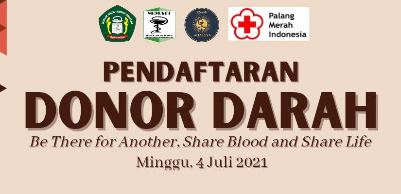 Pendaftaran Donor Darah